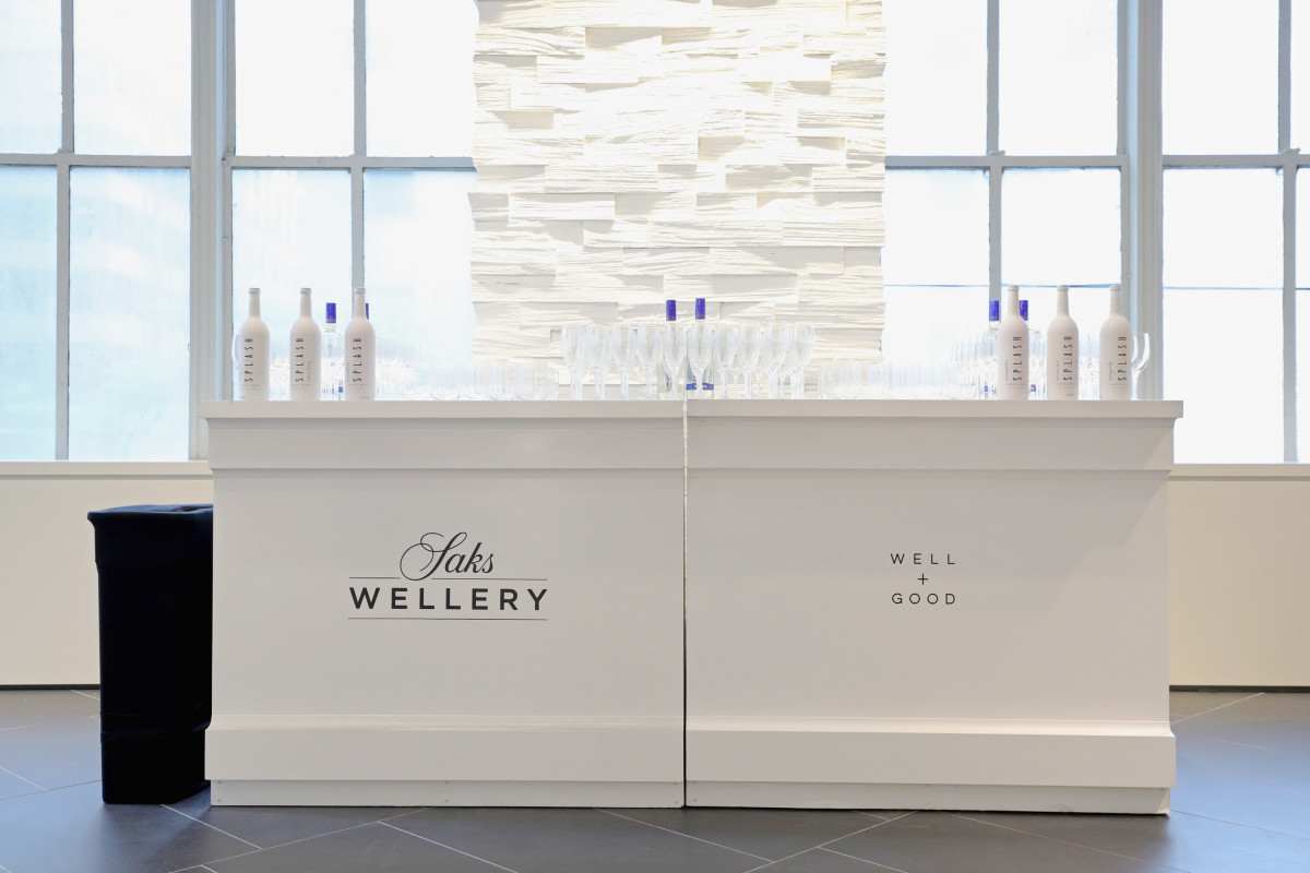 The Wellery at Saks. Photo: Cindy Ord/Getty Images for Saks Fifth Avenue