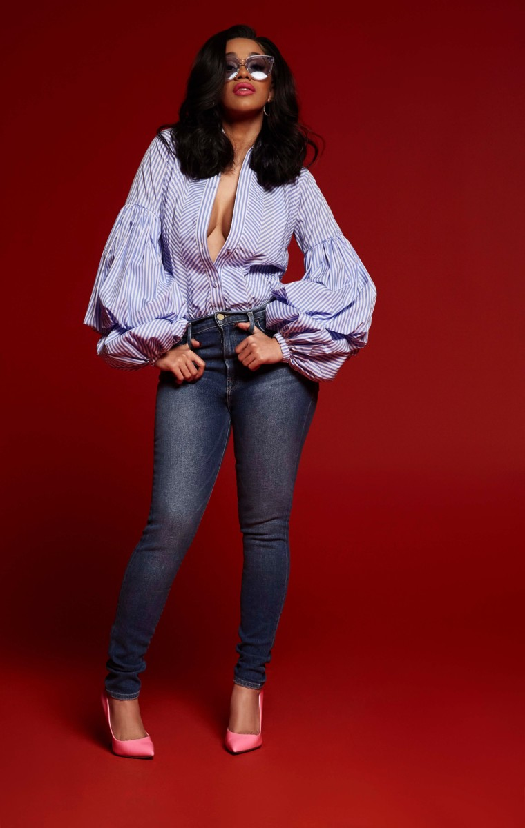 Cardi B for Steve Madden. Photo: Steve Madden