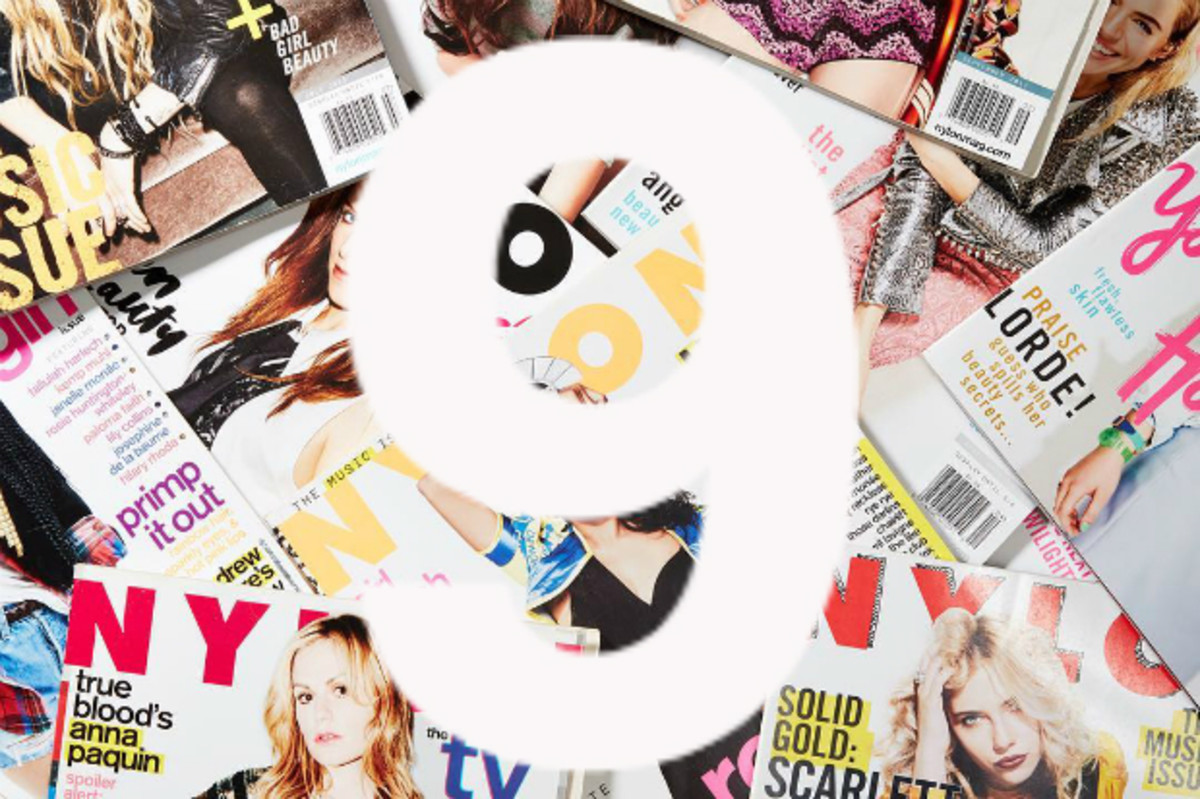 """""""Nylon"""" magazines. Photo: @nylonmag/Instagram"""