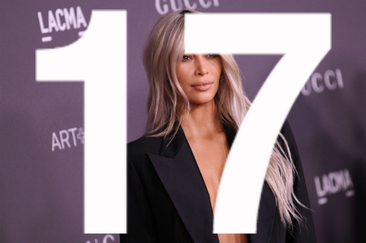 Kim Kardashian West at the 2017 LACMA Art+Film Gala. Photo: Jason LaVeris/FilmMagic