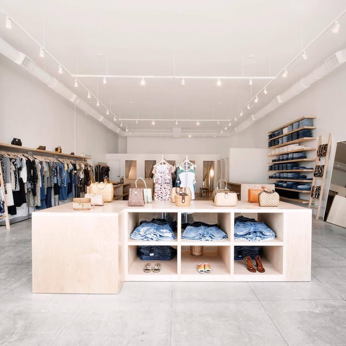 Reformation's Melrose Ave. vintage store. Photo: @reformation/Instagram