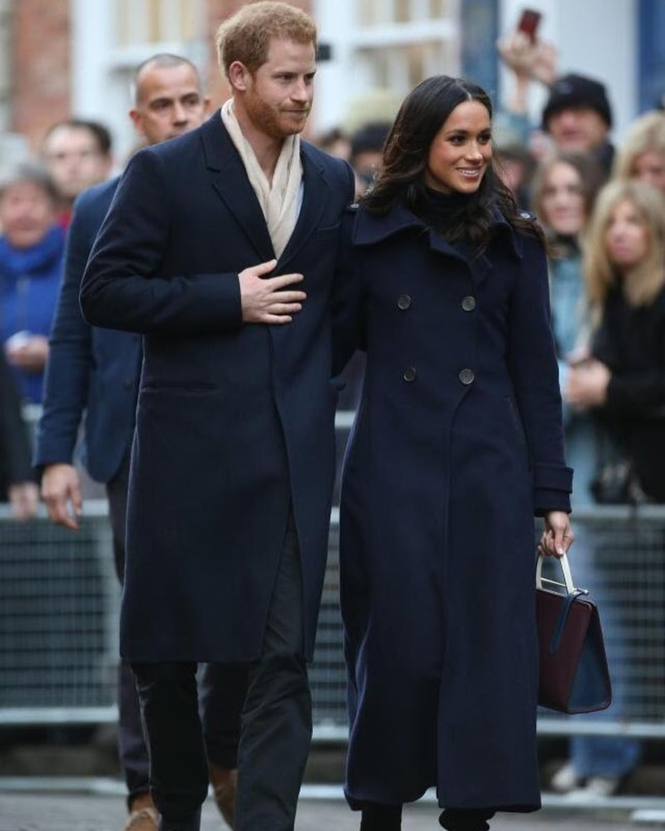 Prince Harry and Meghan Markle in Nottingham, England. Photo: Chris Jackson/Getty Images
