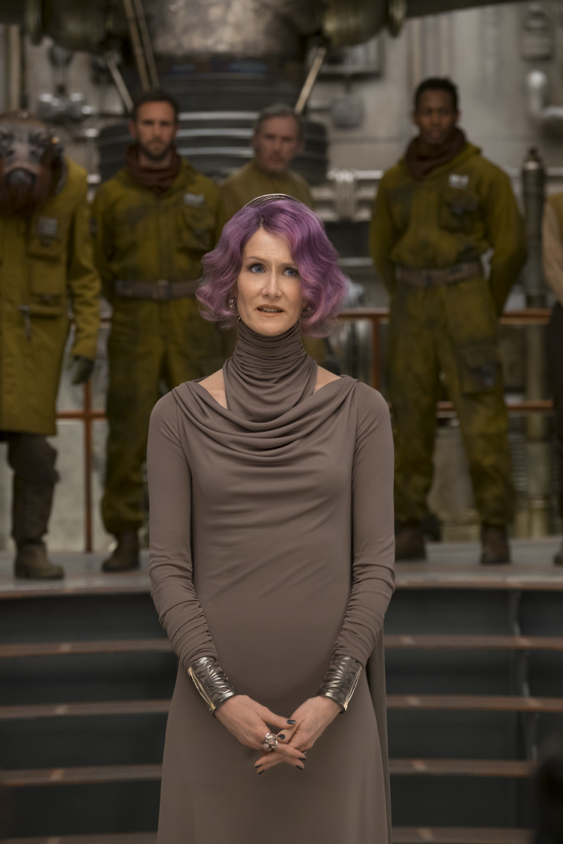 Vice Admiral Holdo (Laura Dern). Photo: David James/2017 Lucasfilm Ltd. & ™, All Rights Reserved.