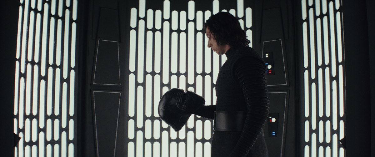 Kylo Ren (Adam Driver). Photo: Lucasfilm Ltd. © 2017 Lucasfilm Ltd. All Rights Reserved.