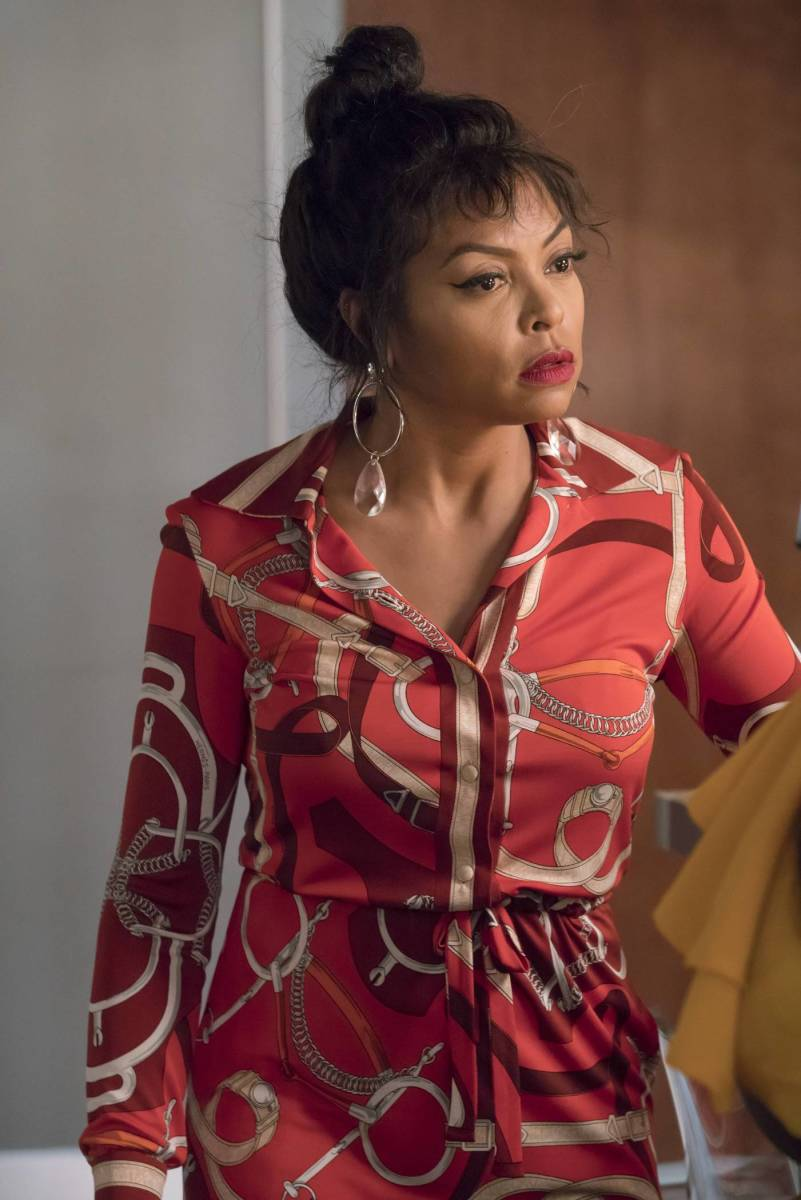 Cookie Lyon (Taraji P. Henson) in vintage Hermès on 'Empire.' Photo: Chuck Hodes/FOX