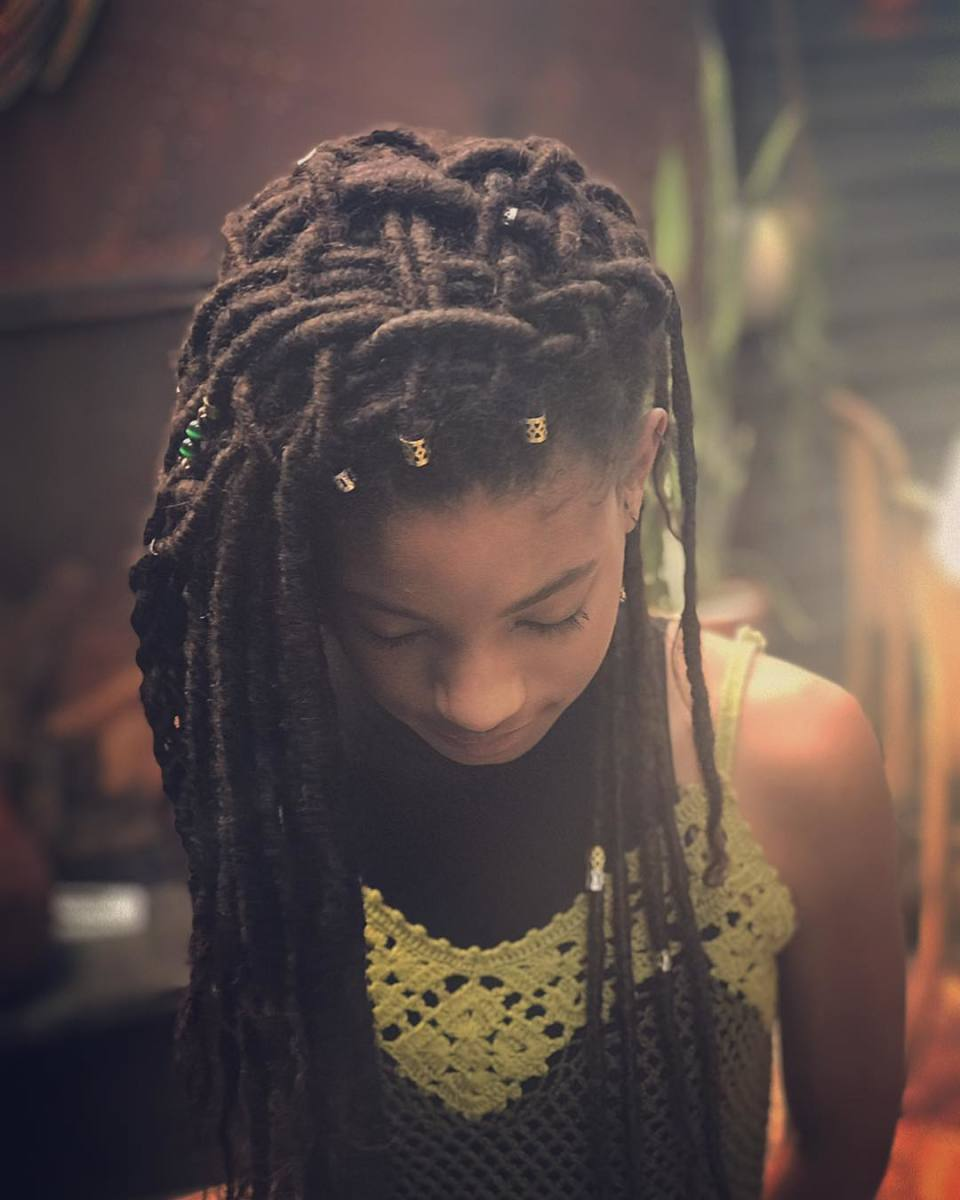 Willow Smith. Photo: @vernonfrancois/Instagram