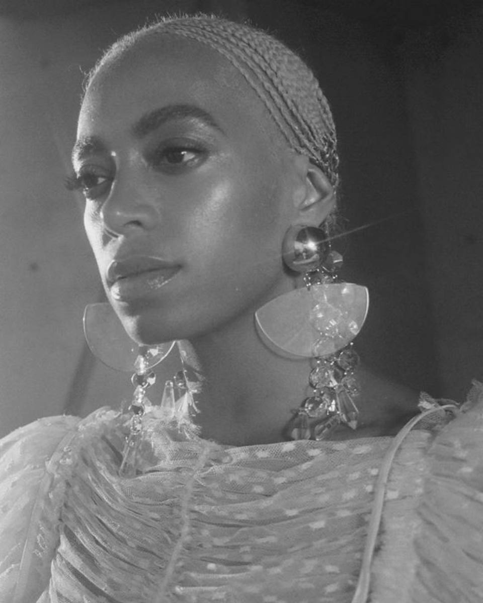 Solange Knowles. Photo: @vernonfrancois/Instagram