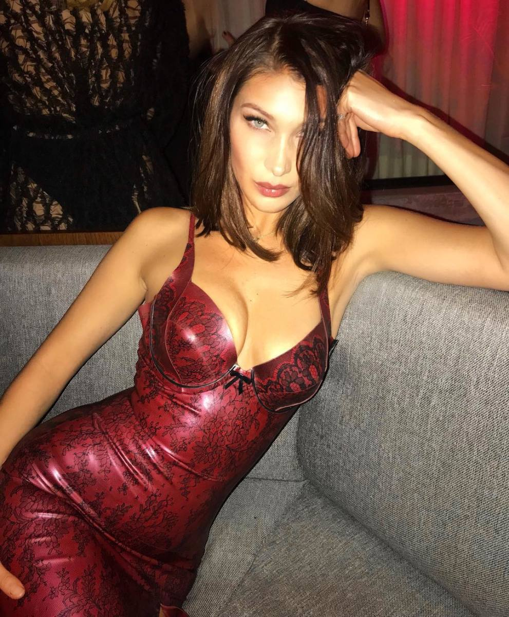 The body that defined 2017. Photo: @bellahadid/Instagram
