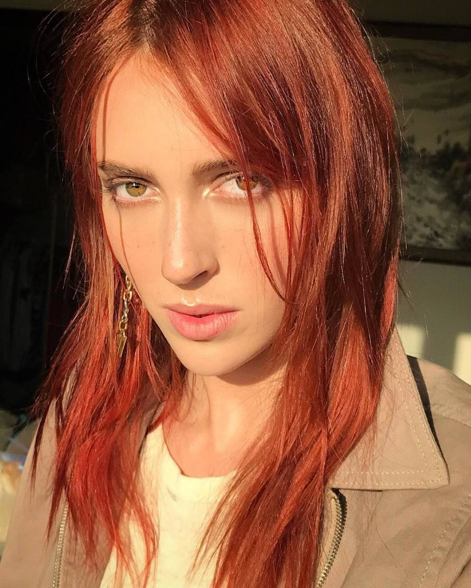 Teddy Quinlivan also invented red hair this year, for the record. Photo: @teddy_quinlivan/Instagram