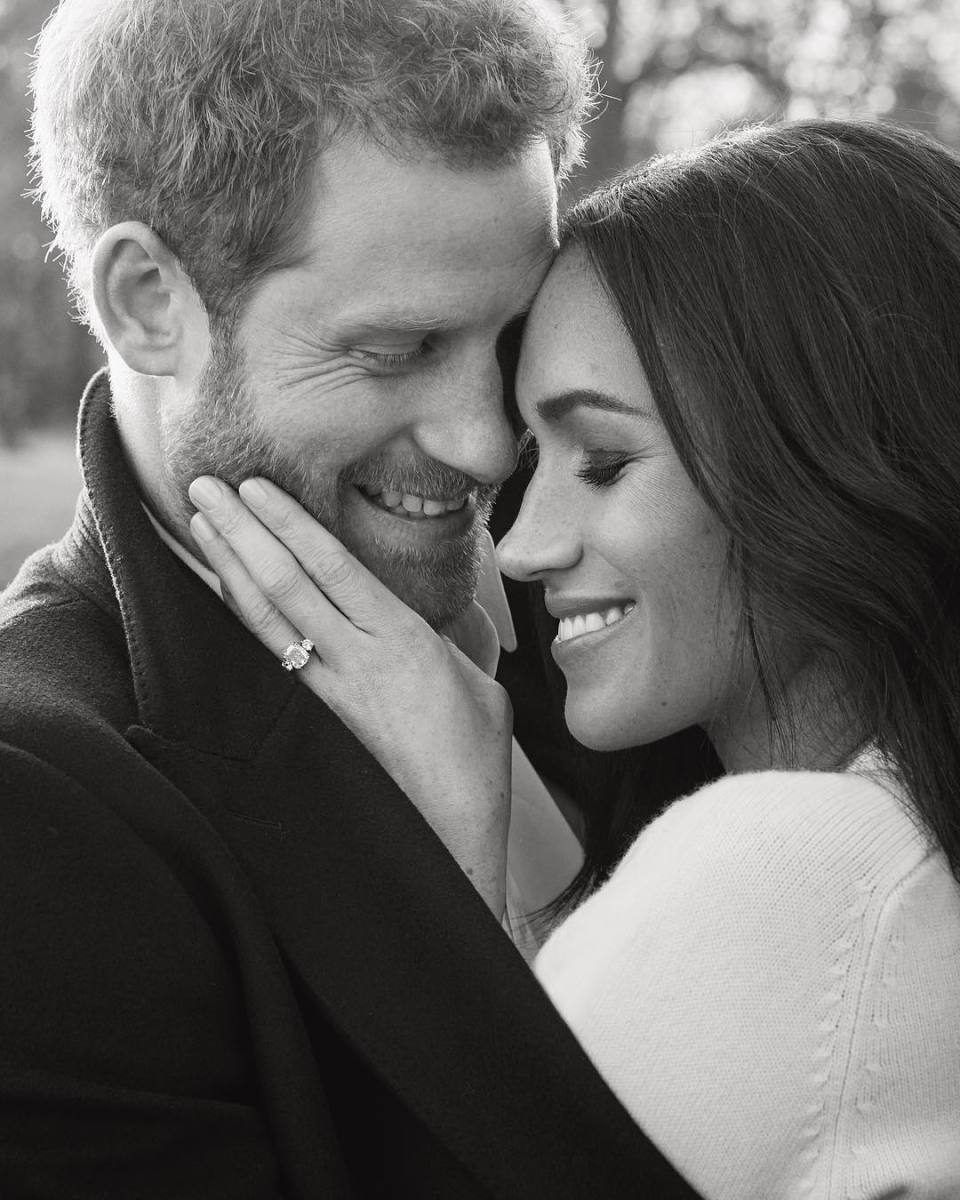 Prince Harry and Meghan Markle. Photo: Alexi Lubomirski via @kensingtonpalace/Instagram