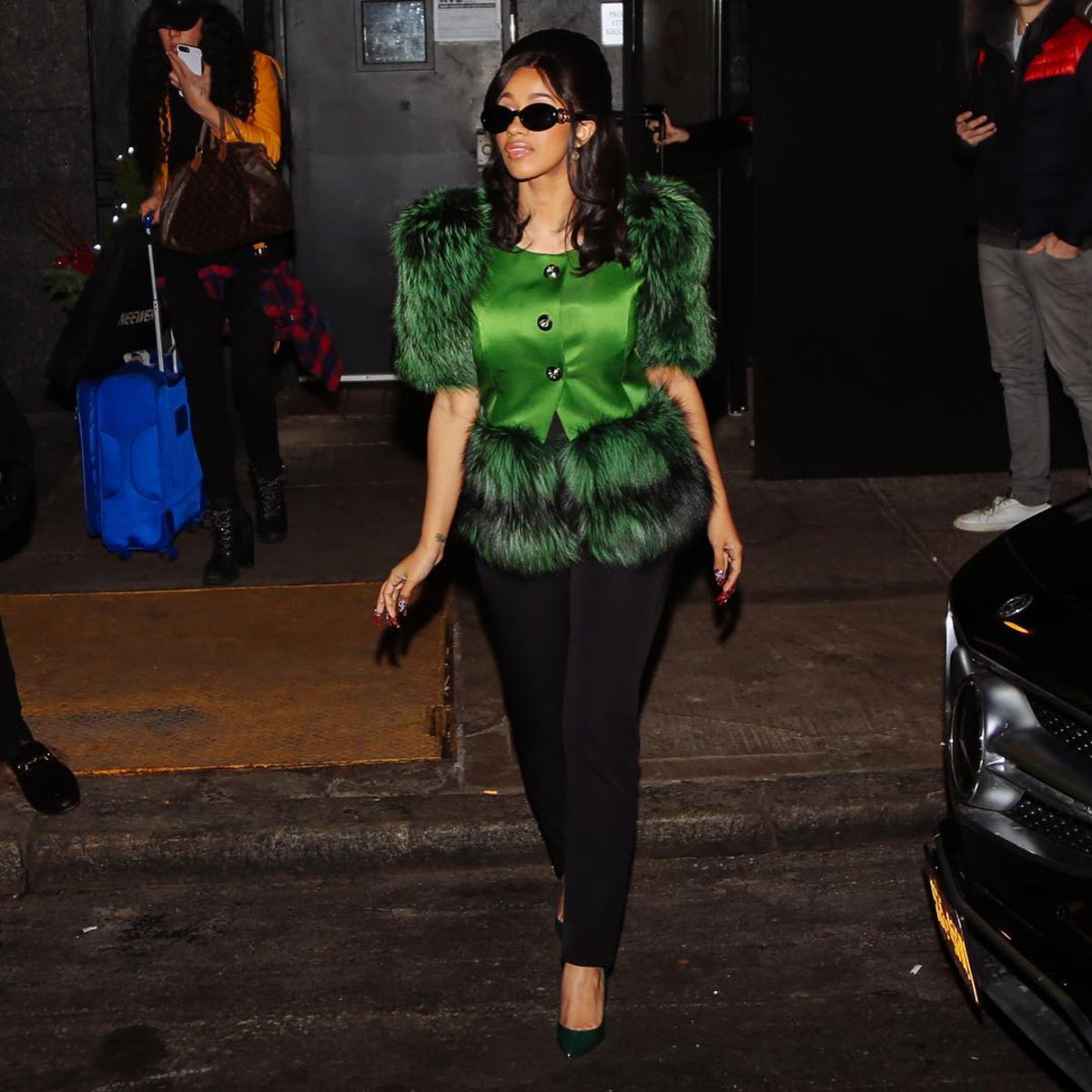 Cardi B Outfits