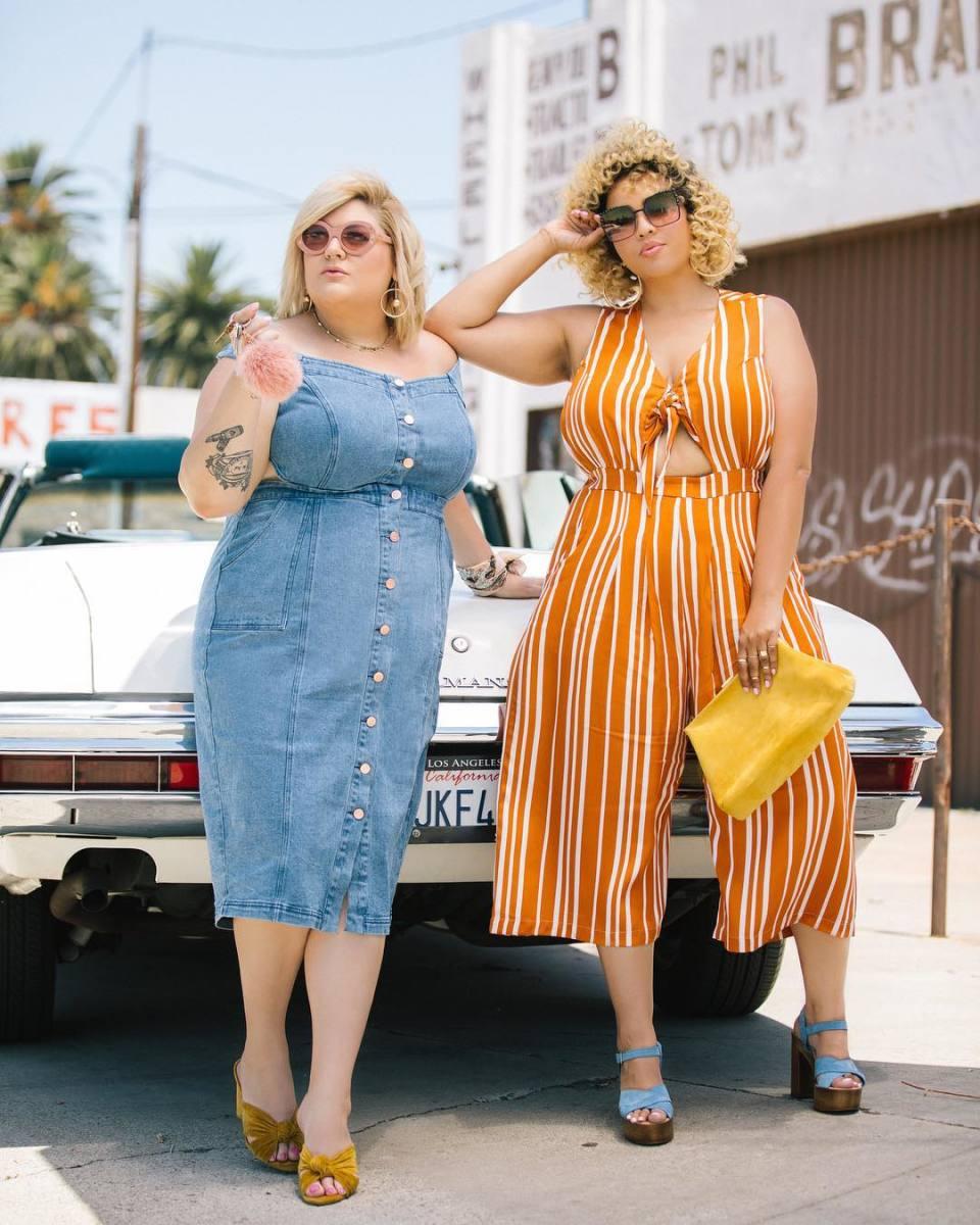 Nicolette Mason and Gabi Gregg in Premme. Photo: @premme_us/Instagram