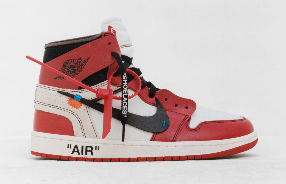 Off-White x Air Jordan 1. Photo: Nike