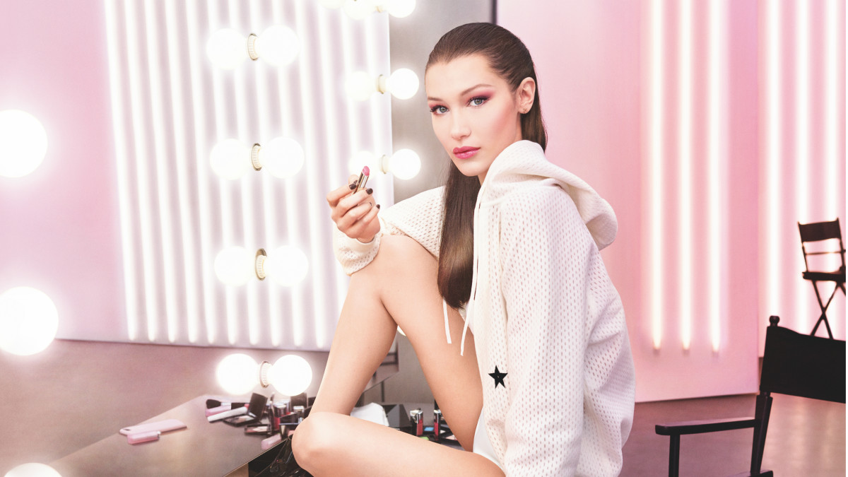 Bella Hadid for Dior Beauty. Photo: Courtesy of Dior