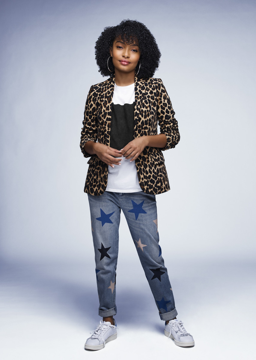 Zoey Johnson (Yara Shahidi) all grown up. Photo: Freeform/Andrew Eccles