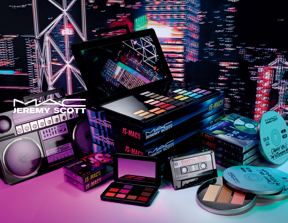 Jeremy Scott x MAC Cosmetics. Photo: Courtesy of MAC