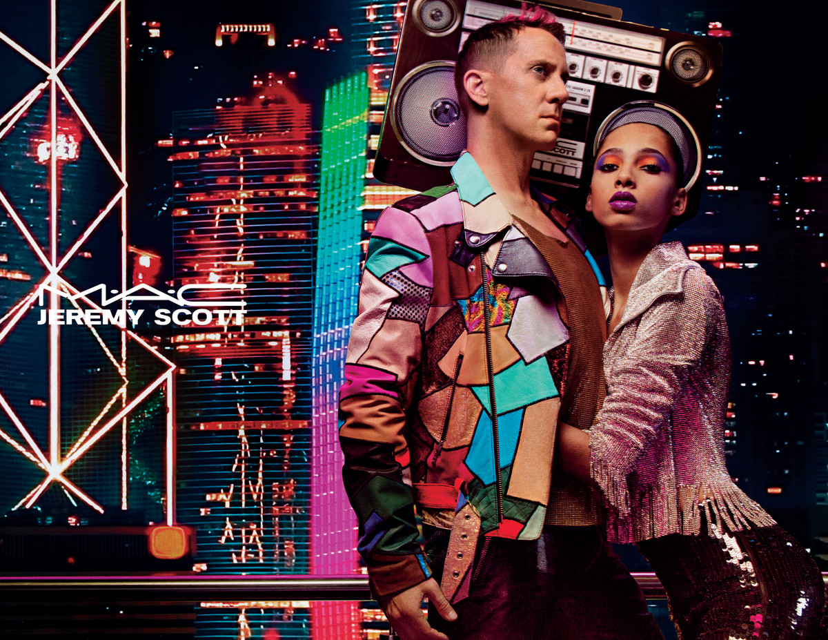Jeremy Scott for MAC Cosmetics. Photo: Courtesy of MAC Cosmetics
