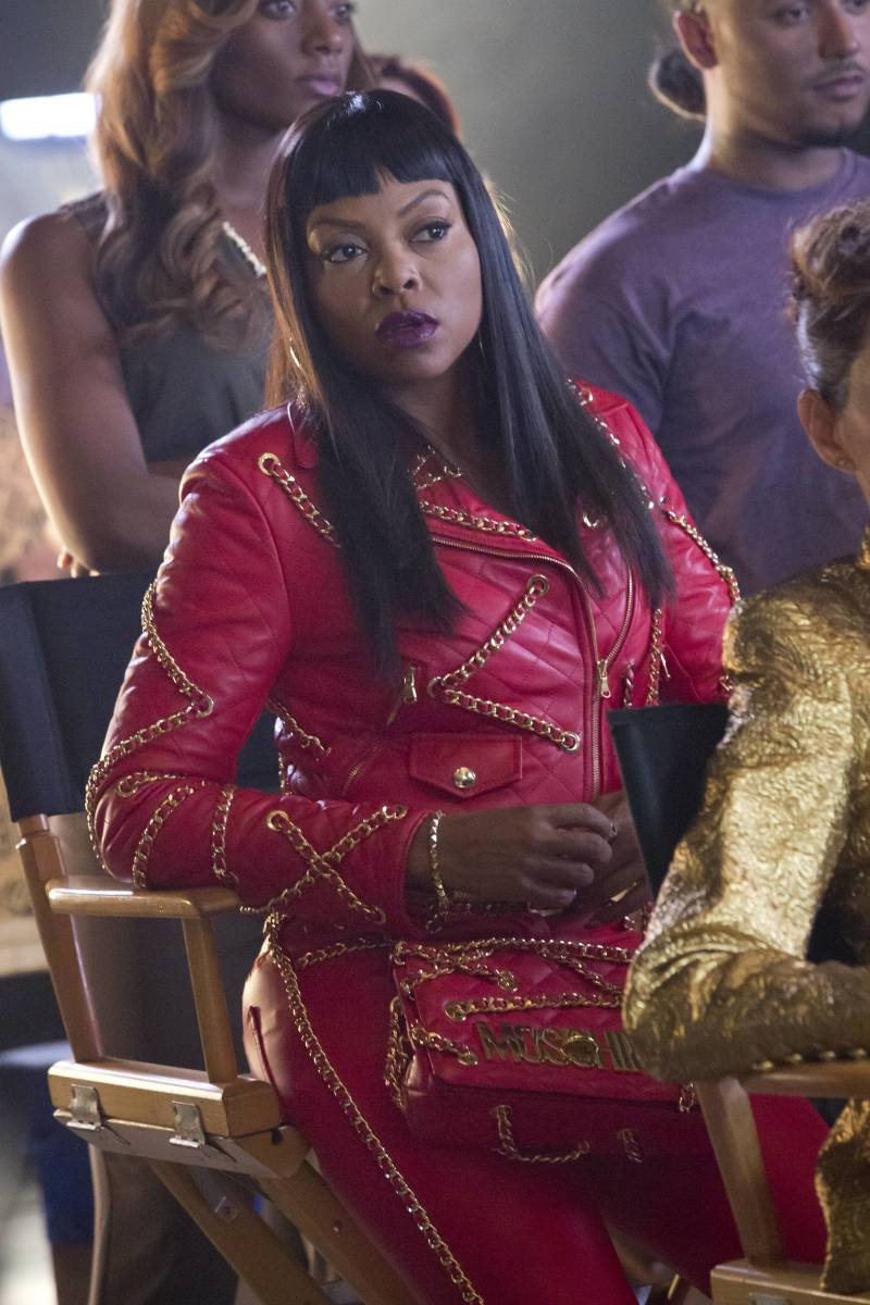 Cookie Lyon (Taraji P. Henson) in Moschino on 'Empire' season two. Photo: Fox