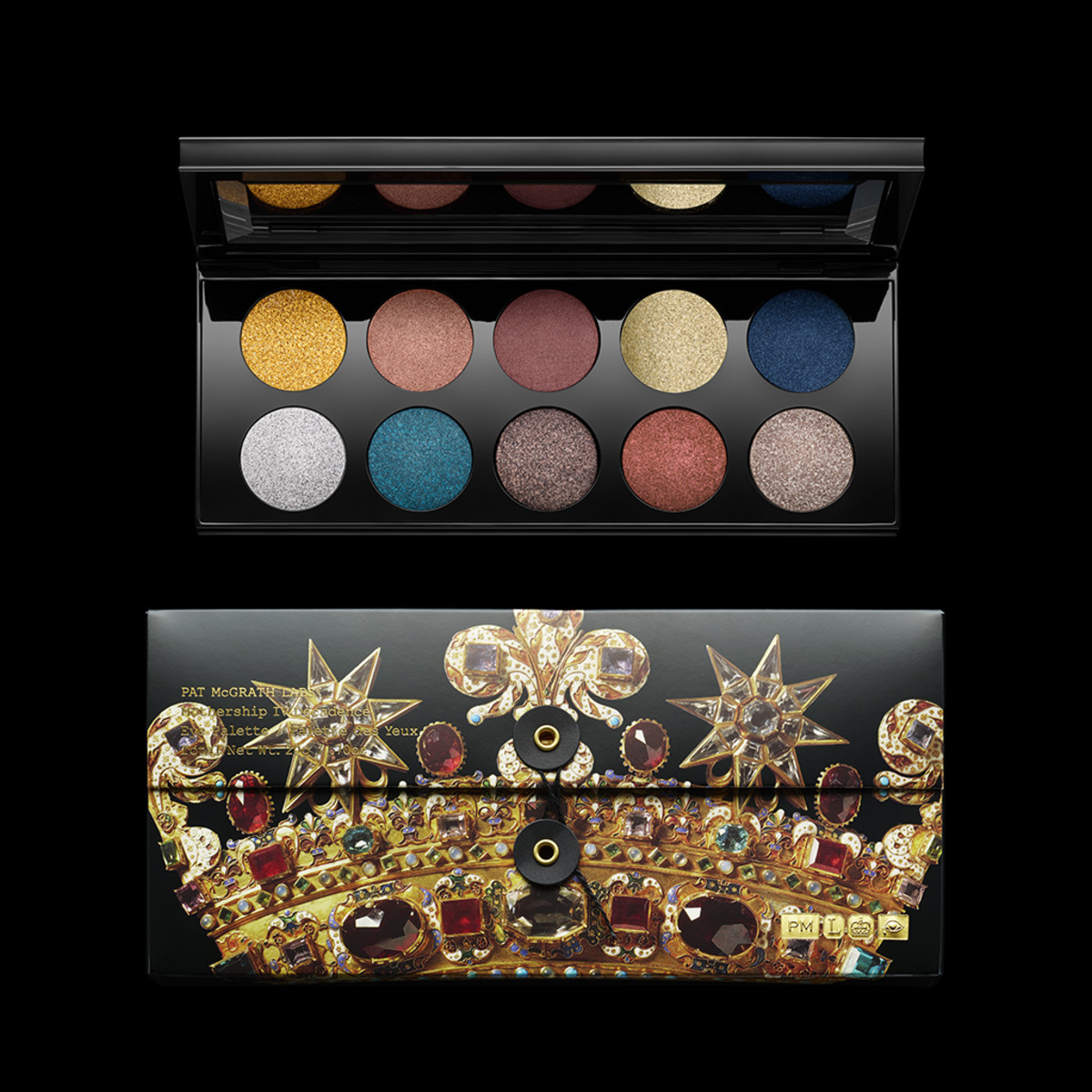 The Pat McGrath Labs Mothership IV: Decadence Eye Palette. Photo: Courtesy of Pat McGrath Labs