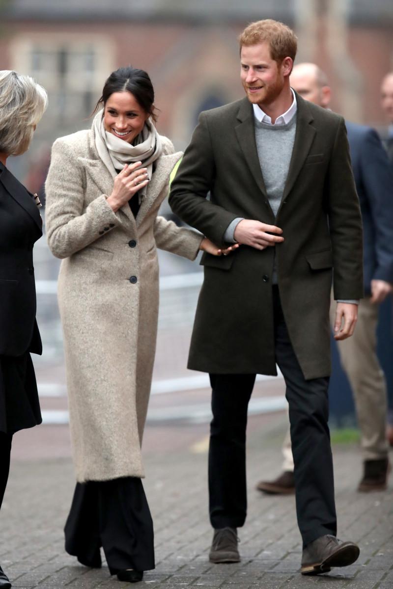 Meghan Markle and Prince Harry visit Reprezent 107.3FM. Photo: Chris Jackson/Getty Images