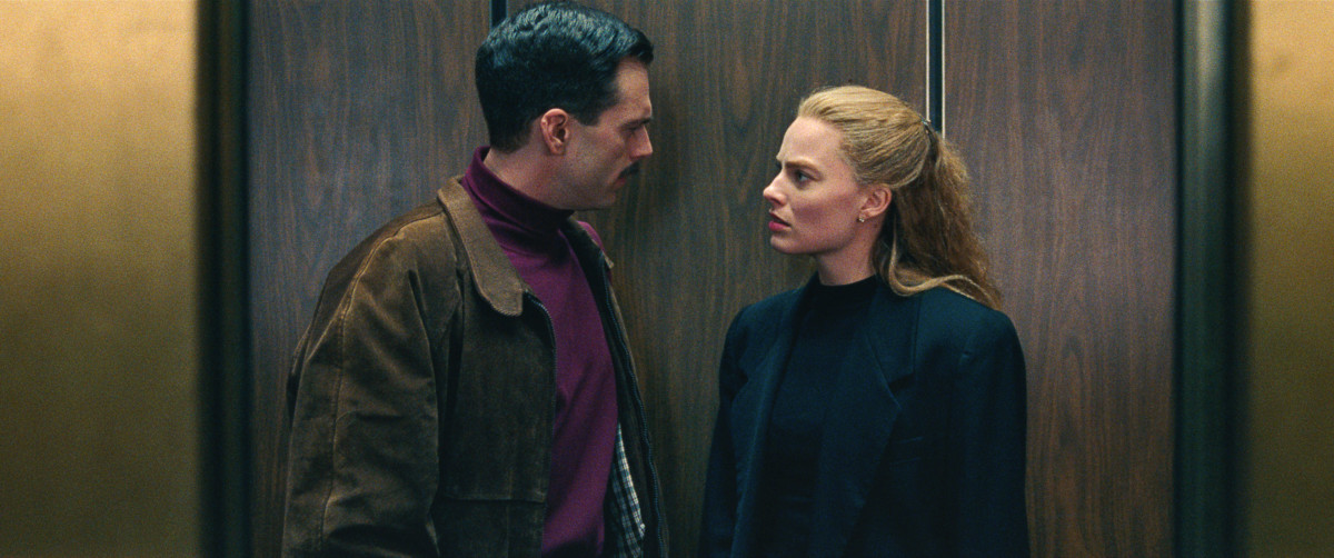 Jeff Gillooly (Sebastian 'Carter Baizen' Stan) and Tonya Harding (Margot Robbie). Photo: courtesy of Neon