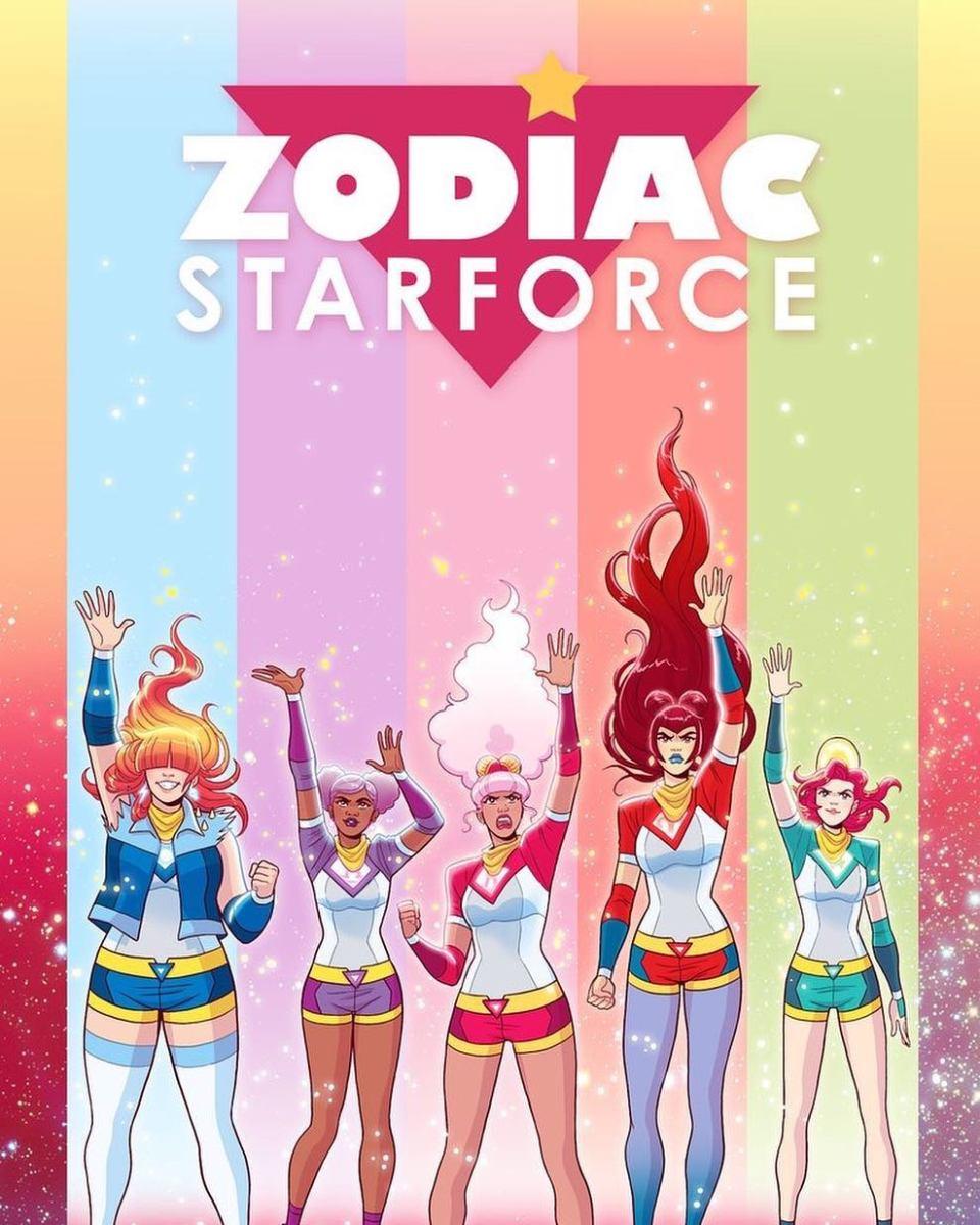 """Zodiac Starforce"" cover by Paulina Ganucheau. Photo: @paulinaganucheau/Instagram"
