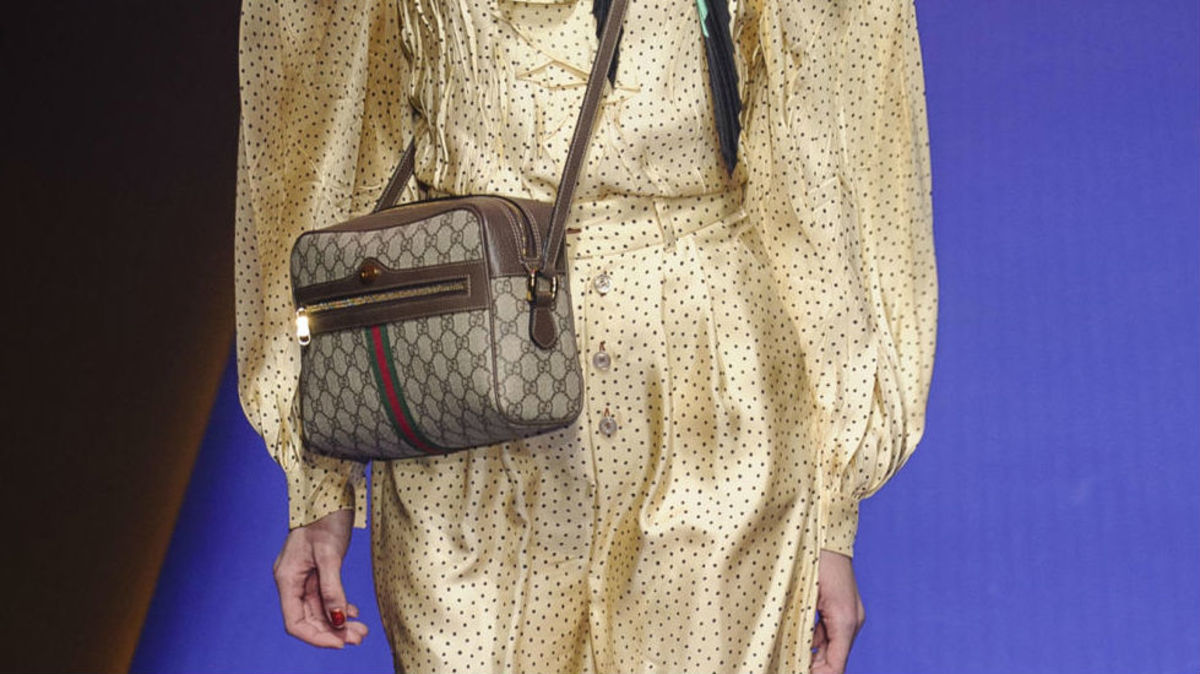 7fa4b34aa983 As Logo Mania Heats Up on the Runway, Vintage Retailers Reap Some of the  Benefits