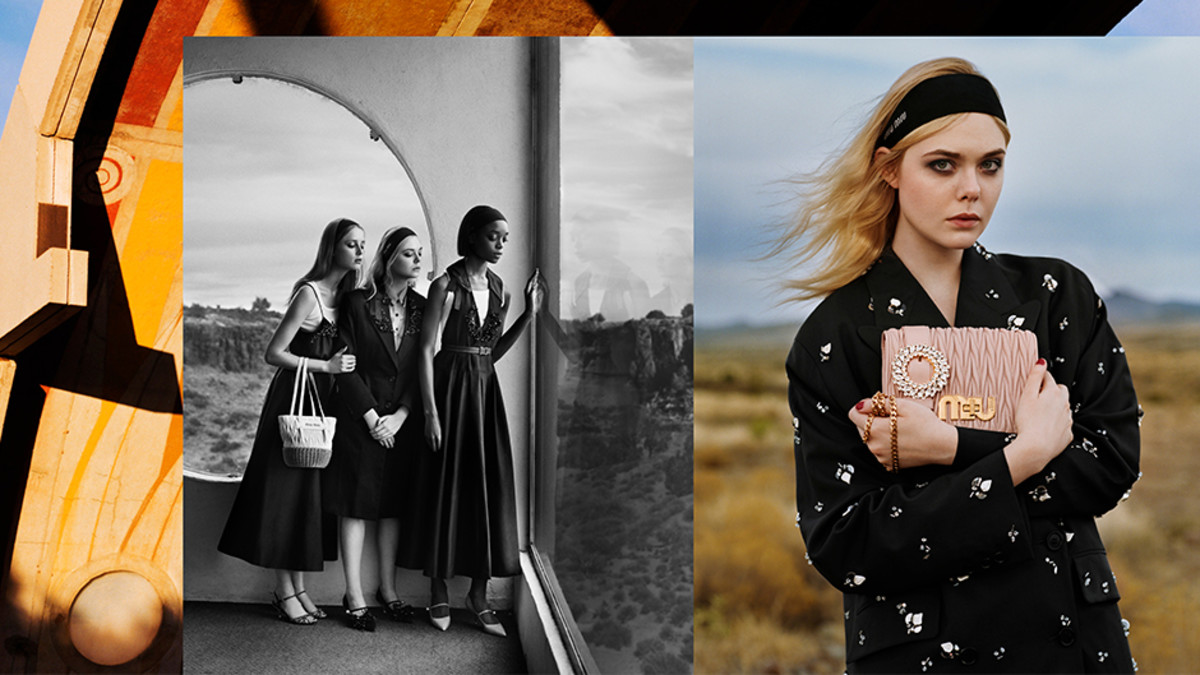 Miu Miu's Spring 2018 campaign. Photo: Alasdair McLellan