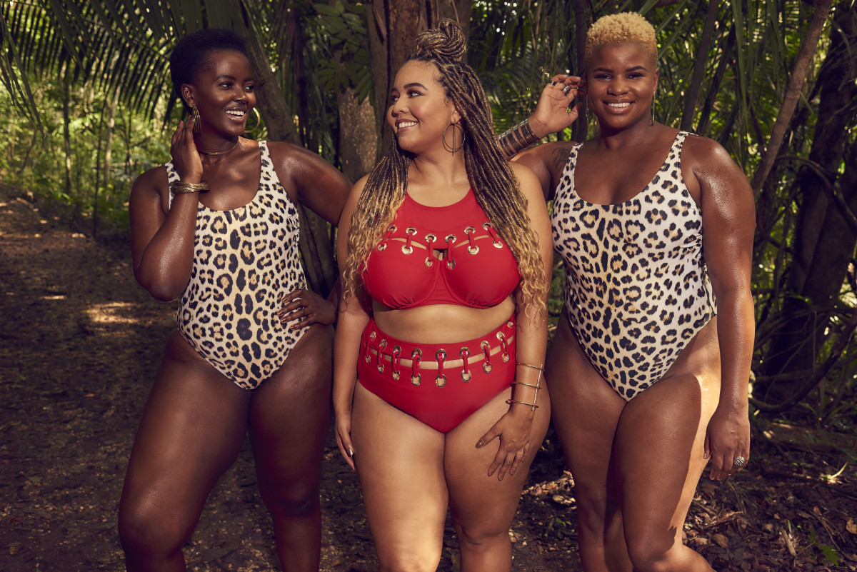 Philomena Kwao, Gabi Gregg and Erika Hart. Photo: Ryan Michael Kelly/Swimsuits For All