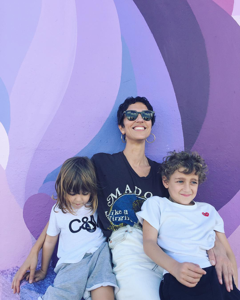 Yasmin Sewell with her sons. Photo: @yasminsewell/Instagram