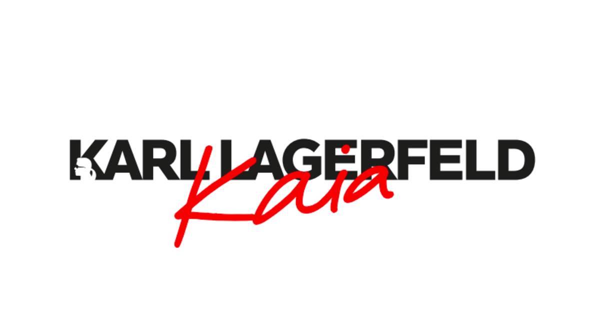 The logo for Karl Lagerfeld x Kaia. Photo: Courtesy