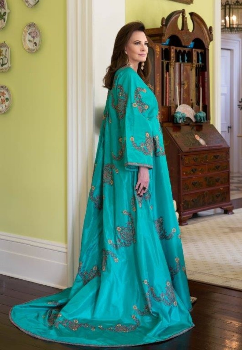 """Southern Charm"" star Patricia Altschul in a caftan. Photo: Patricia Altschul"