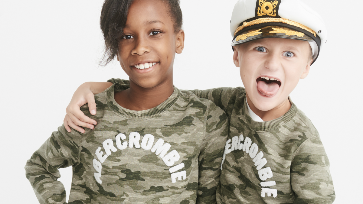 05d88a0f6a29 Abercrombie Kids Launches a Gender-Neutral Clothing Line for Children -  Fashionista