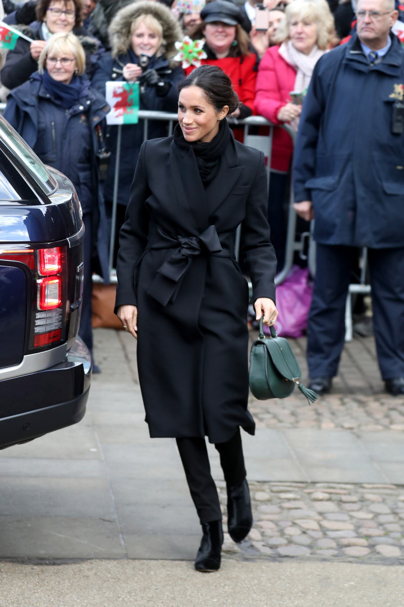 Meghan Markle at the Cardiff Castle. Photo: Chris Jackson/Getty Images