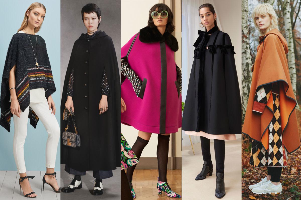 (L-R): St John, Christian Dior, Emilio Pucci, Fendi and Pringle of Scotland