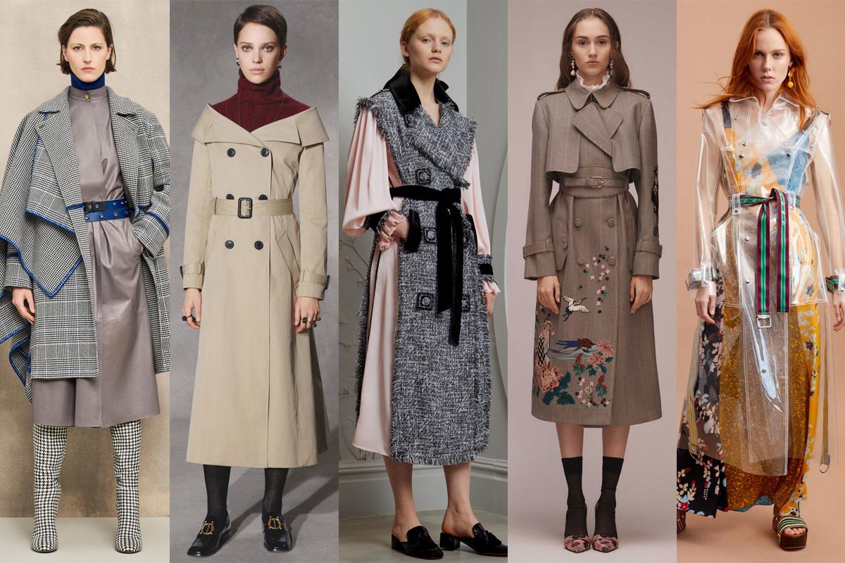 (L-R): Agnona, Christian Dior, Huishan Zhang, Erdem and Diane von Furstenberg