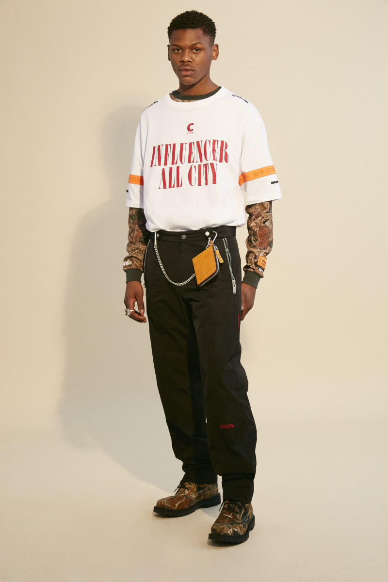 A look from Heron Preston's F/W 2018 collection. Photo: Heron Preston