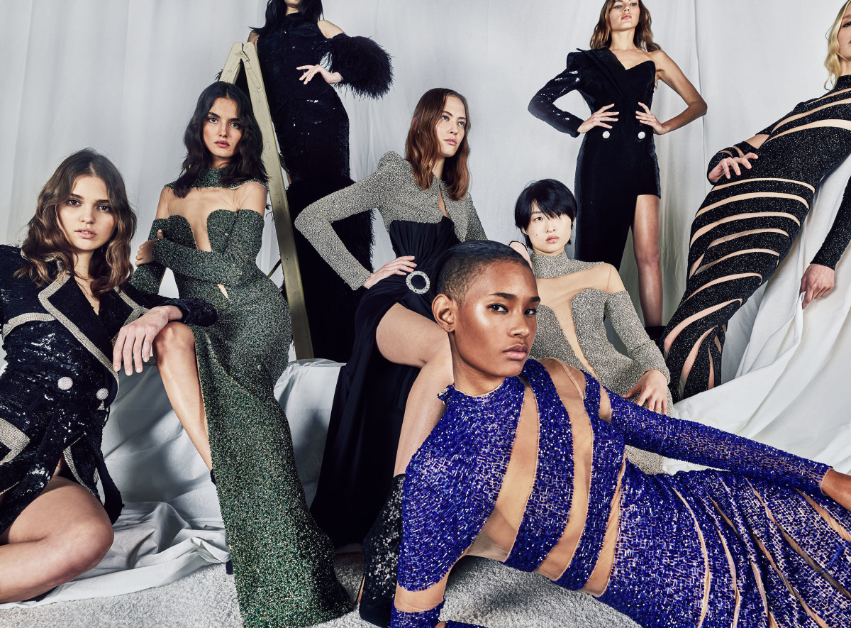 The 44 François Premier campaign. Photo: Courtesy of Balmain