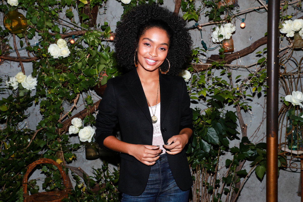 Yara Shahidi at the launch of her #AerieReal campaign. Photo: Aerie