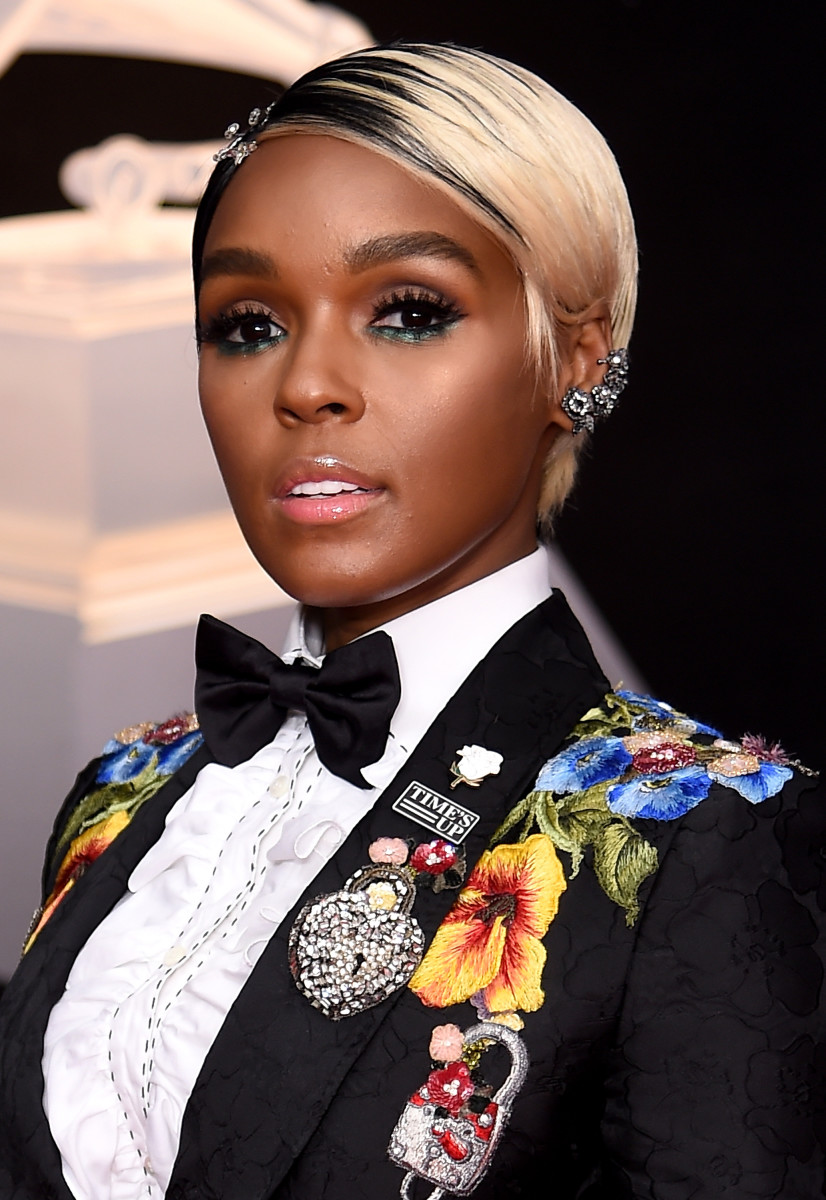 Janelle Monáe at the 2018 Grammy Awards. Photo: Dimitrios Kambouris/Getty Images for NARAS