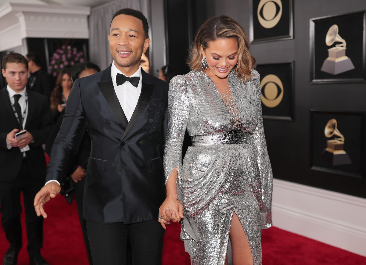 Mom and Dad at the 2018 Grammys at Madison Square Garden in New York City. Photo: Christopher Polk/Getty Images for NARAS