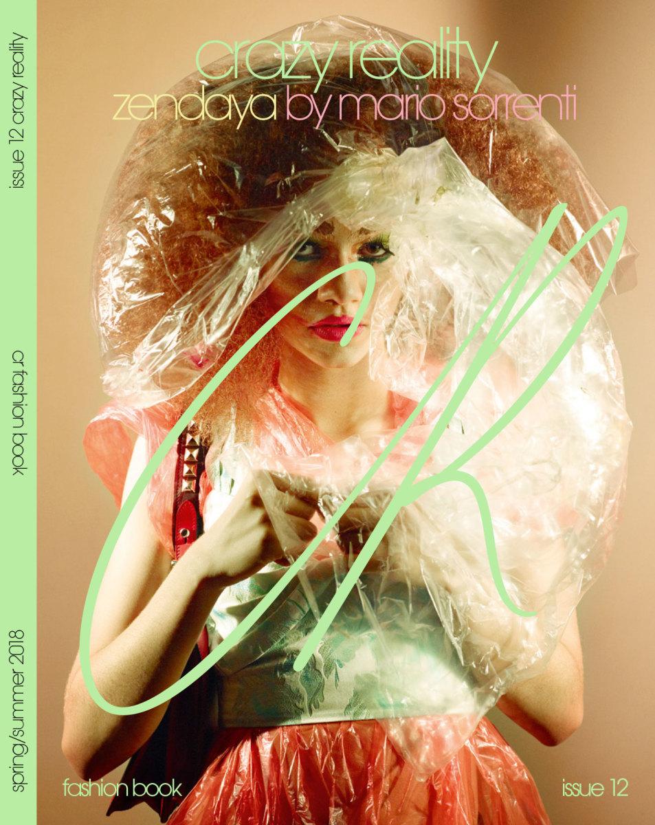 "Zendaya for ""CR Fashion Book,"" Issue 12. Photo: Mario Sorrenti/""CR Fashion Book"""