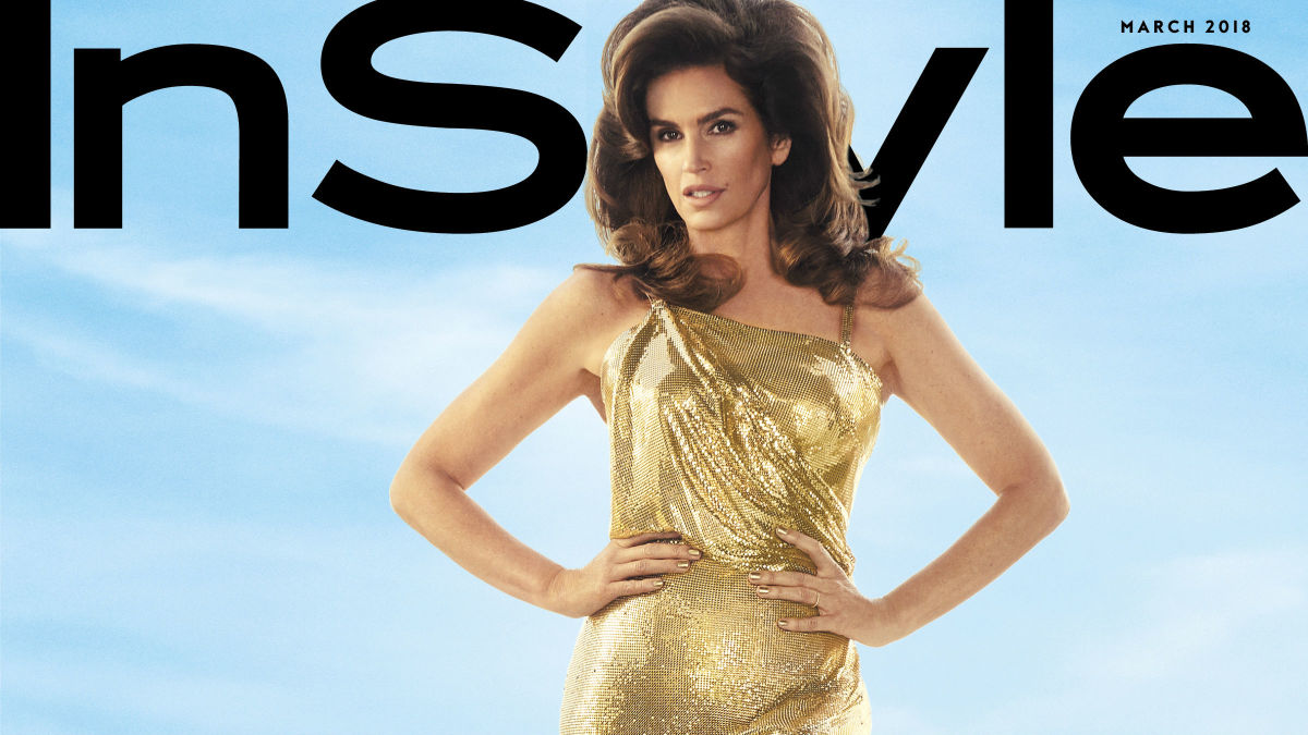 Cindy Crawford Is The Latest Cover Star For The March Issue Of 39 Instyle 39 Fashionista