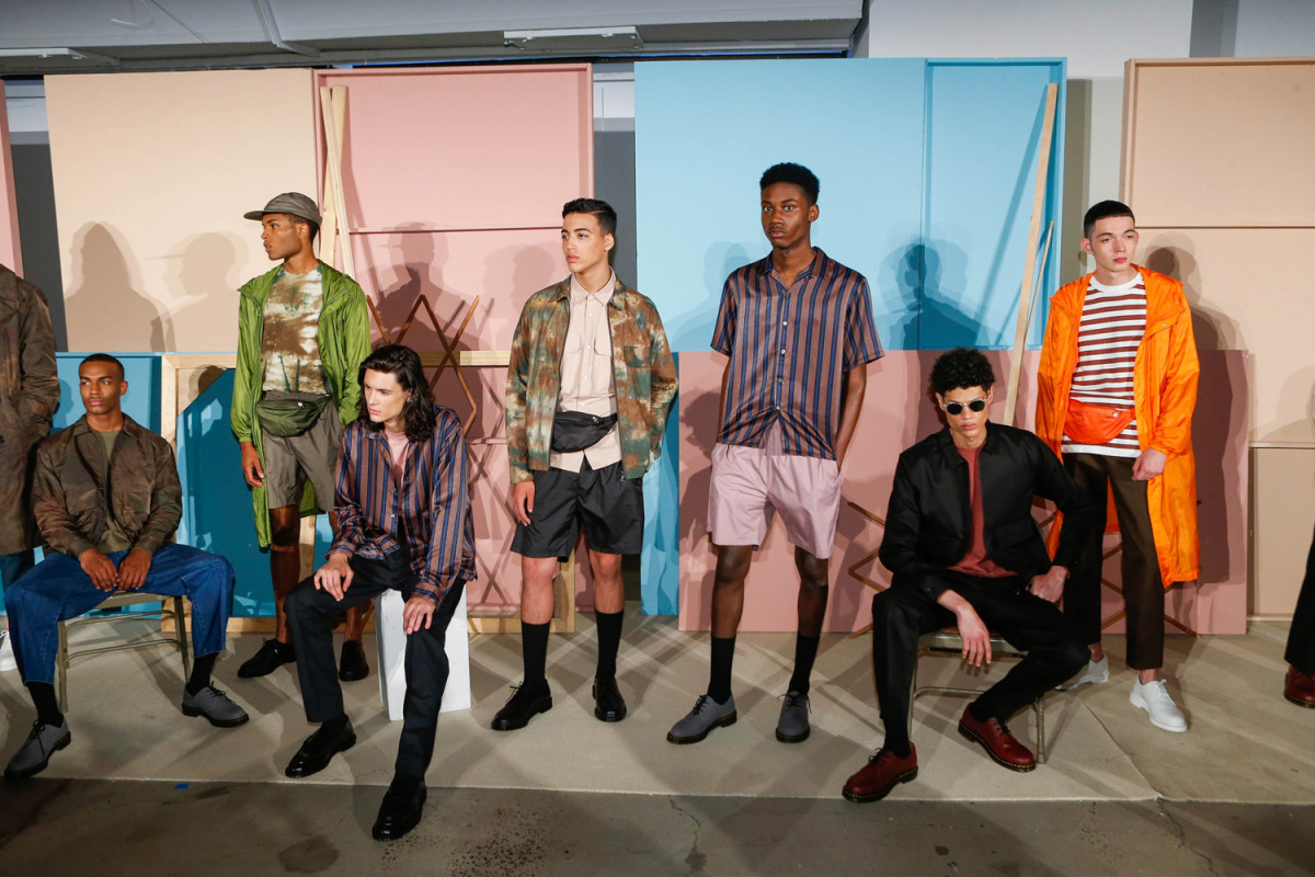 Maden Noir's Spring 2018 presentation at New York Fashion Week: Men's. Photo: Imaxtree