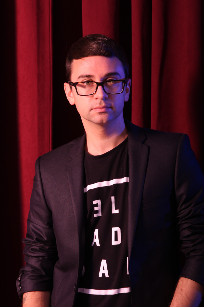 Fashion designer Christian Siriano. Photo: Brad Walsh