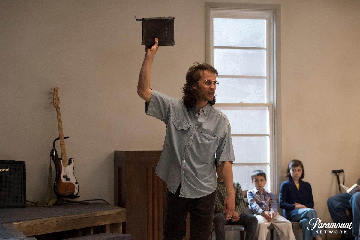 Taylor Kitsch as David Koresh. Photo: Paramount Network