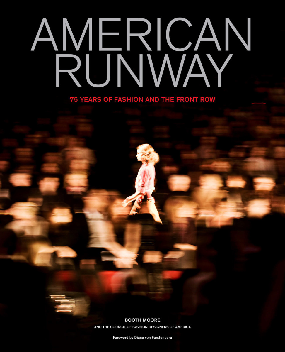 "Diane von Furstenberg's Fall 2008 show, pictured on the cover of ""American Runway."" Photo: Christopher Anderson/Magnum Photos"