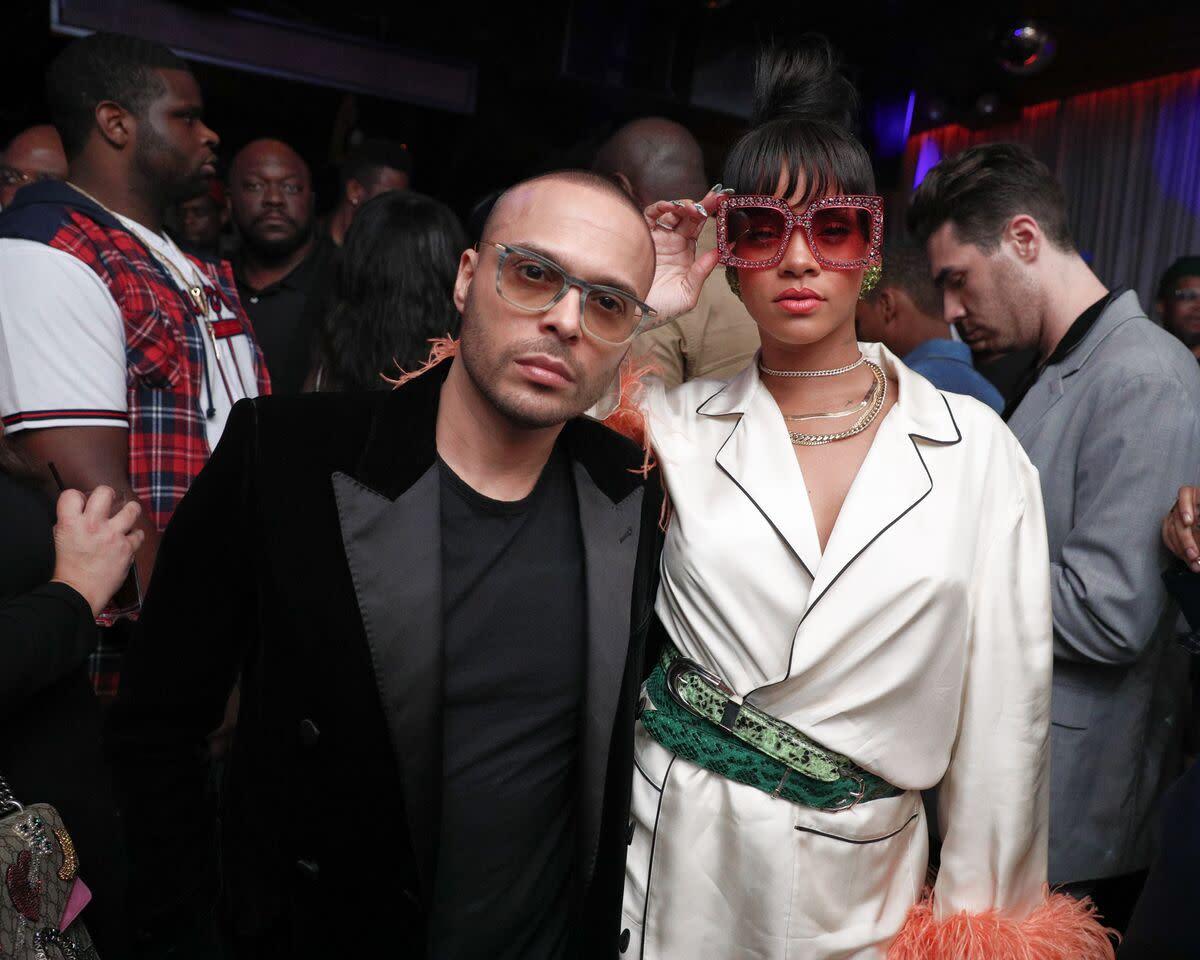 Richie Akiva and Rihanna. Photo: Courtesy