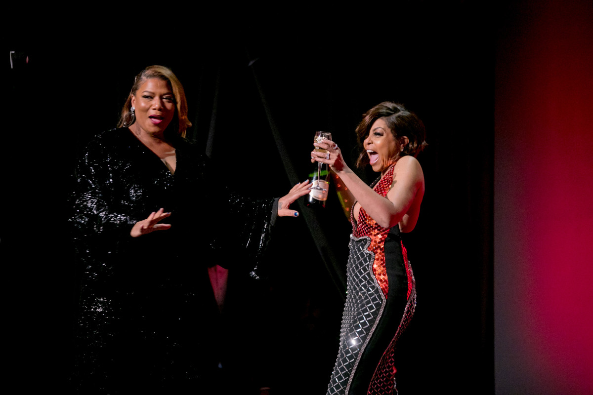 Queen Latifah and Taraji P. Henson. Photo: Kevin Tachman/Getty Images