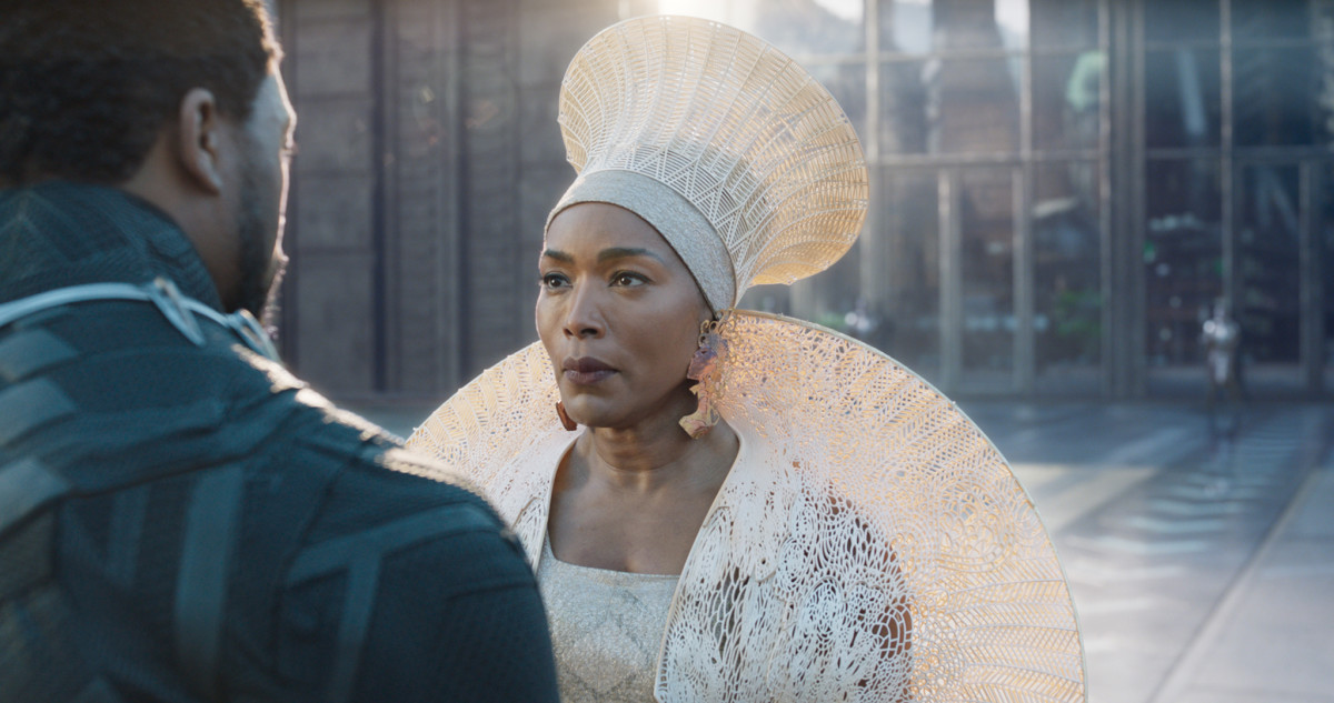 QUEEN (Angela Basset). Photo: Marvel Studios